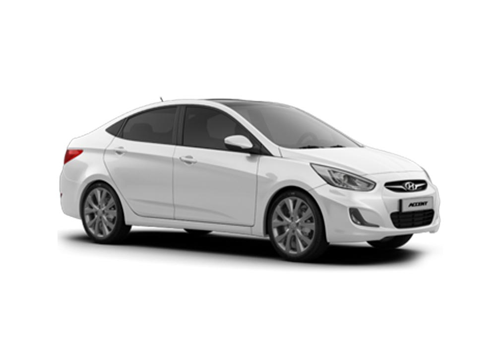 HYUNDAI ACCENT BLUE AUTO DIESEL NAVIGATION INCLUDED